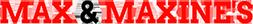 Max & Maxines Logo