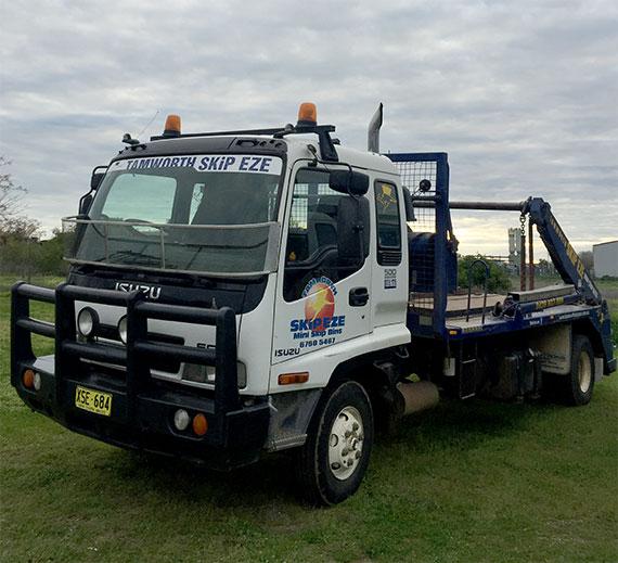 Image of Skip Eze truck